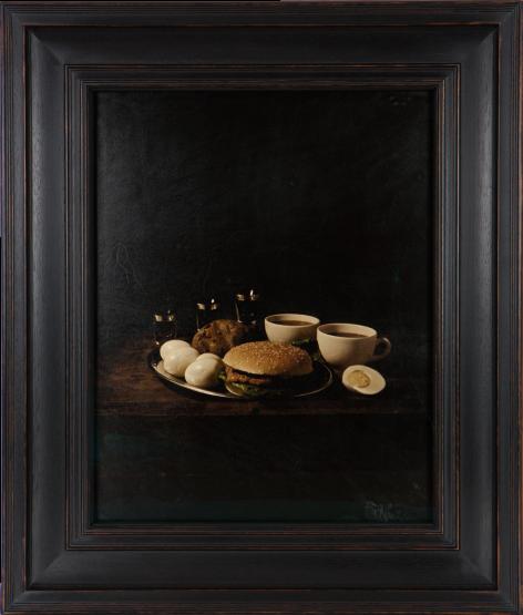 Last Meal on Death Row, Velma Barfield,2012, Digital Transfer print on goatskin parchment, 520mm x 412.2mm